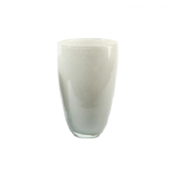 DutZ®-Collection Blumenvase, H 32 x Ø 21 cm, Farbe: Hellgrau