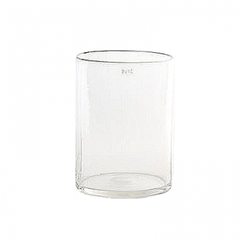 DutZ®-Collection Glasvase Cylinder, hoch, H 30  x  Ø.22 cm, Farbe: Klar