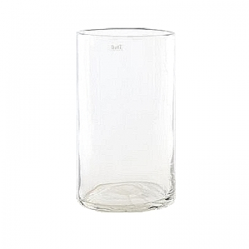 Collection DutZ® vase/récipient cylindrique, h 40 x Ø 22 cm, Colori: transparent