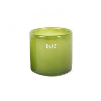 DutZ®-Collection Windlight Votive, h 10 x Ø 10 cm, colour: green