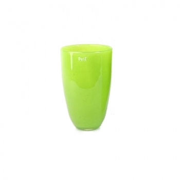 DutZ®-Collection Flower Vase, h 26 x Ø 16 cm, colour: lime