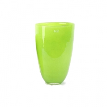 DutZ®-Collection Flower Vase, h 32 x Ø 21 cm, colour: lime