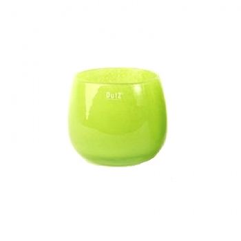 Collection DutZ® vase/récipient Pot, h 14 x Ø 16 cm, Colori: lime