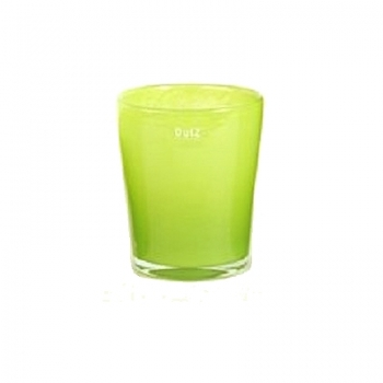 Collection DutZ® vase Conic, h 14 x Ø 12 cm, Colori: lime