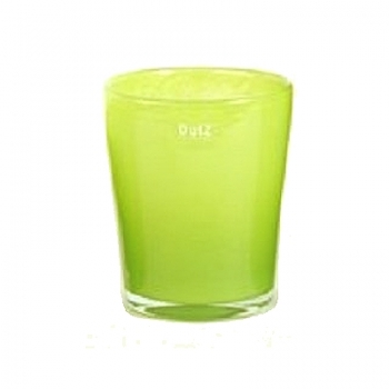 Collection DutZ® vase Conic, h 17 x Ø 15 cm, Colori: lime