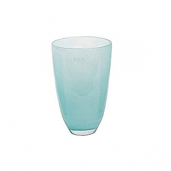 Collection DutZ® Vase, h 26 x Ø 16 cm, bleu clair