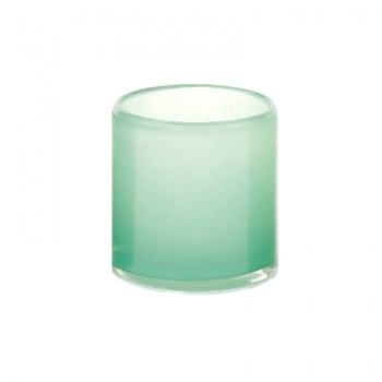 DutZ®-Collection Windlight Votive, h 10 x Ø 10 cm, colour: jade