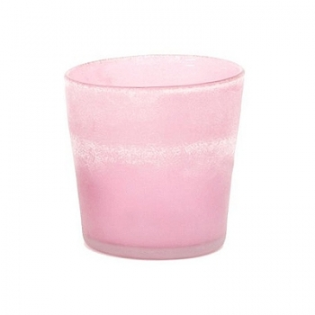 DutZ®-Collection Cylinder Pot Patina, h 14 x Ø 14 cm, colour: pink