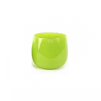 Collection DutZ® vase/récipient Pot, h 11 x Ø 13 cm, Colori: lime