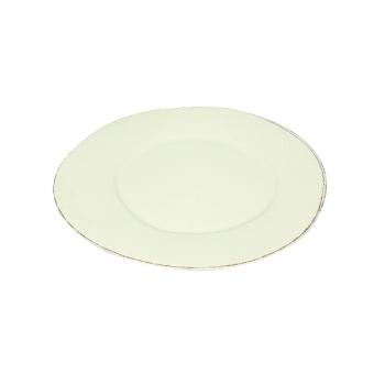 Virginia Casa Linea Lastra, 6 dinner plates, Bianco, Ø 30 cm