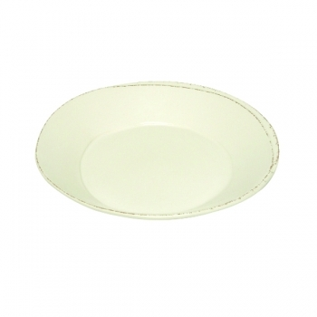 Virginia Casa Linea Lastra, 6 Suppenteller, Bianco, Ø 24 cm