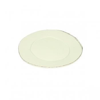 Virginia Casa Linea Lastra, 6 dessert plates, Bianco, Ø 22 cm