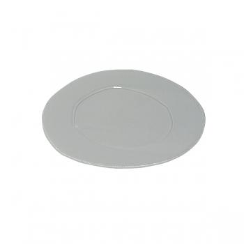 Virginia Casa Linea Lastra, 6 dessert plates, Grigio, Ø 22 cm
