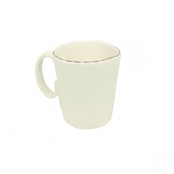 Virginia Casa Linea Lastra, 6 mugs, Bianco, Ø 10 cm