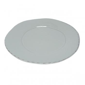 Virginia Casa Linea Lastra, 2 service plates, Grigio, Ø 36 cm