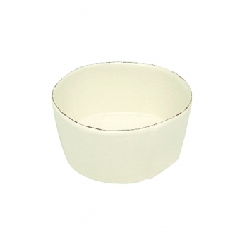 Virginia Casa Linea Lastra, 4 salad bowls medium, Bianco, Ø 20 cm
