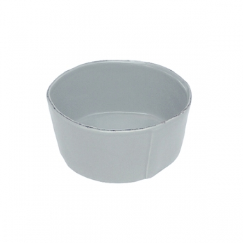 Virginia Casa Linea Lastra, 4 salad bowls medium, Grigio, Ø 20 cm