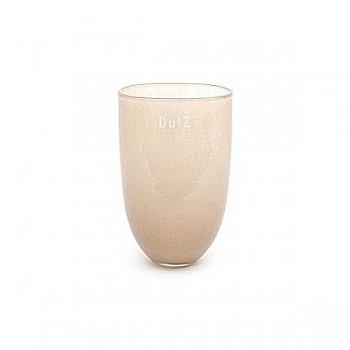 DutZ®-Collecdion Vase Oval, small, h 16 x w 11 x d 8 cm, color: creme