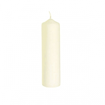 Henry Dean 2 candles white, for Windlight M, h 20 x Ø 5 cm