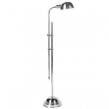 Eichholtz Design-Stehlampe Greenwick, vernickelt, Schirm Ø 15, H 140 x Ø Fuß 20 cm