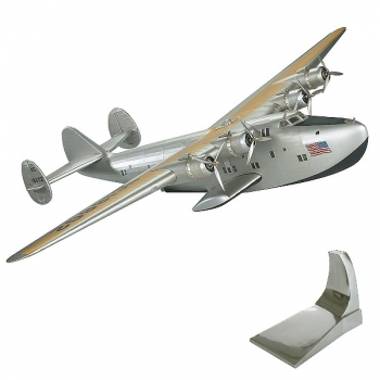Airplane Model Boeing B314, detailed design, with stand, l 57.5 x w 80 x h 14 cm