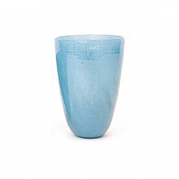 DutZ®-Collection Flower Vase, h 32 x Ø 21 cm, colour: blue petrol