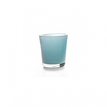 DutZ®-Collection Vase Conic, h 11  x  Ø.9.5 cm, colour: blue petrol
