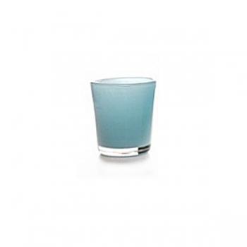 Collection DutZ® vase Conic, h 11 x Ø 9.5 cm, Colori: bleu petrol