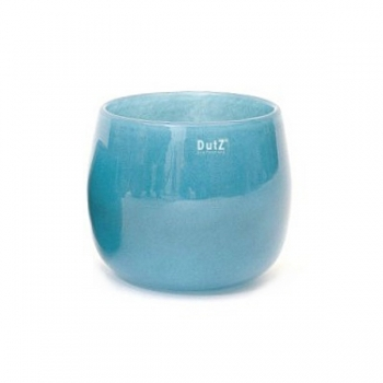 Collection DutZ® vase/récipient Pot, h 18 x Ø 20 cm, Colori: bleu petrol