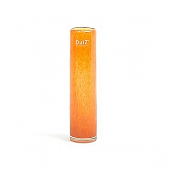 DutZ®-Collection Vase Cylinder, slim, h 25  x  Ø 6 cm, yellow orange