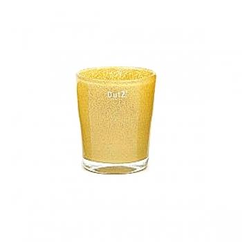 DutZ®-Collection Vase Conic, h 14  x  Ø.12 cm, curry