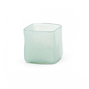 Collection DutZ® vase/récipient Square, h 13 x L 13 x l 13 cm, bleu clair