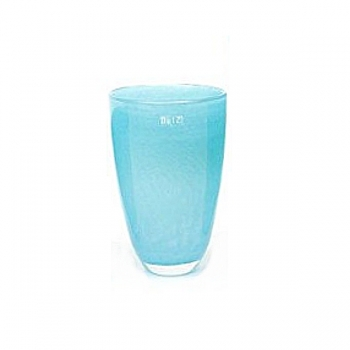 DutZ®-Collection Flower Vase, h 26 x Ø 16 cm, aqua