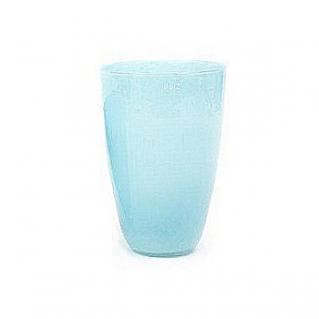 DutZ®-Collection Flower Vase, h 32 x Ø 21 cm, aqua