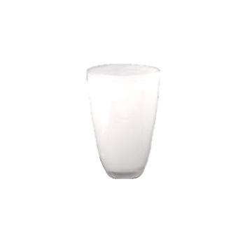 Collection DutZ® Vase, h 21 cm x Ø 13 cm, blanc