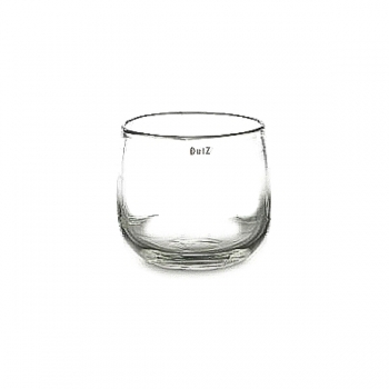 Collection DutZ® vase/récipient Pot, h 11 x Ø 13 cm, transparent