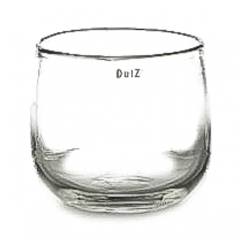 Collection DutZ® vase/récipient Pot, h 26 x Ø 30 cm, transparent