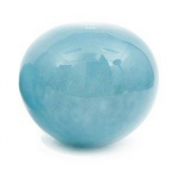 DutZ®-Collection Garden Ball, with opening in bottom, h 33 x Ø 39 cm, blue petrol