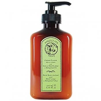Angel' Spa Tuscany, lotion pour le corps, senteur: menthe / lime / bergamotte, dans un pratique flacon dispenseur, contenu 200 ml