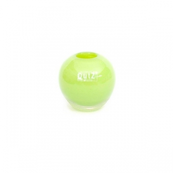 DutZ®-Collection Vase Ball, small, h 9 x Ø 9 cm, lime/clear