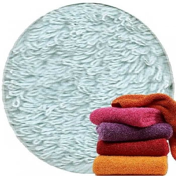 Abyss & Habidecor Super Pile Terry Cloth Guest Towel, 30 x 50 cm, 100% Egyptian Giza 70 Cotton, 700g/m², 305 Crystal