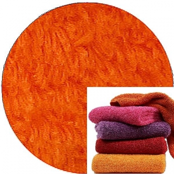 Abyss & Habidecor Super Pile Terry Cloth Guest Towel, 30 x 50 cm, 100% Egyptian Giza 70 Cotton, 700g/m², 611 Vibrant