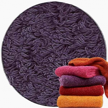 Abyss & Habidecor Super Pile Terry Cloth Guest Towel, 30 x 50 cm, 100% Egyptian Giza 70 Cotton, 700g/m², 420 Lilas