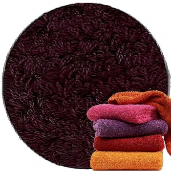 Abyss & Habidecor Super Pile Terry Cloth Guest Towel, 30 x 50 cm, 100% Egyptian Giza 70 Cotton, 700g/m², 490 Purple