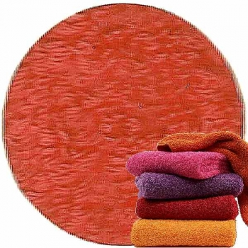 Abyss & Habidecor Super Pile Terry Cloth Guest Towel, 30 x 50 cm, 100% Egyptian Giza 70 Cotton, 700g/m², 590 Corail