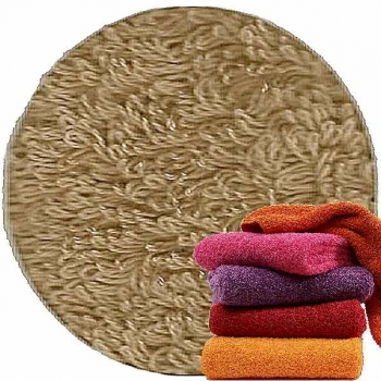 Abyss & Habidecor Super Pile Terry Cloth Guest Towel, 30 x 50 cm, 100% Egyptian Giza 70 Cotton, 700g/m², 711 Taupe