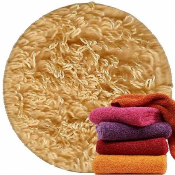 Abyss & Habidecor Super Pile Terry Cloth Guest Towel, 30 x 50 cm, 100% Egyptian Giza 70 Cotton, 700g/m², 885 Camel