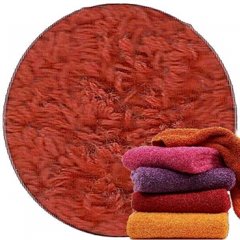 Abyss & Habidecor Super Pile Terry Cloth Sauna/Beach Towel, 105 x 180 cm, 100% Egyptian Giza 70 Cotton, 700g/m², 603 Spicy