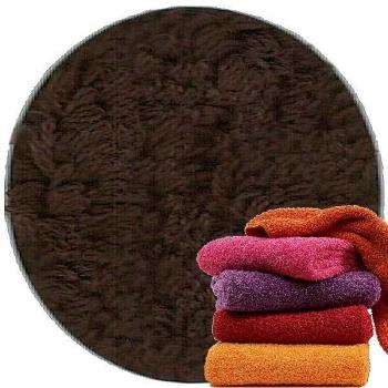 Abyss & Habidecor Super Pile Terry Cloth Sauna/Beach Towel, 105 x 180 cm, 100% Egyptian Giza 70 Cotton, 700g/m², 772 Dark Brown