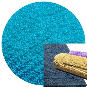 Abyss & Habidecor Bath Mat Reversible, 50 x 80 cm, 100% Egyptian Combed Cotton, 380 Hawai